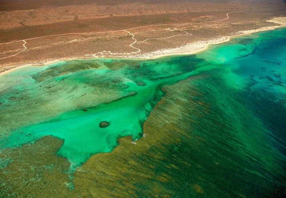 Ninagloo reef aerial