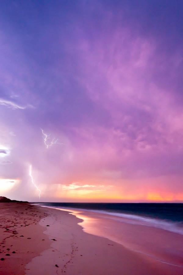 Ningaloo Beach Storm