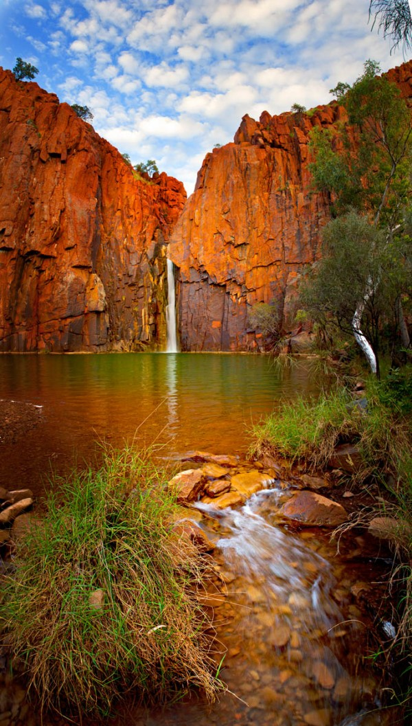 Python Pool Falls