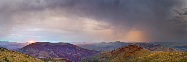Mt Nameless storm Nov14